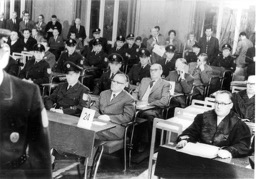 Opening of the trial at the Römer in Frankfurt